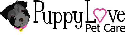 Puppy Love Pet Care Logo